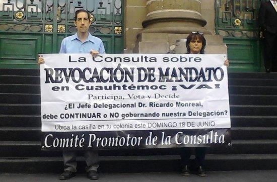 Se deslinda IEDF de consulta ciudadana en la Cuauhtémoc