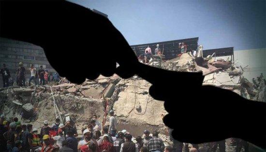 No son los sismos, es la corrupción la que cobra vidas