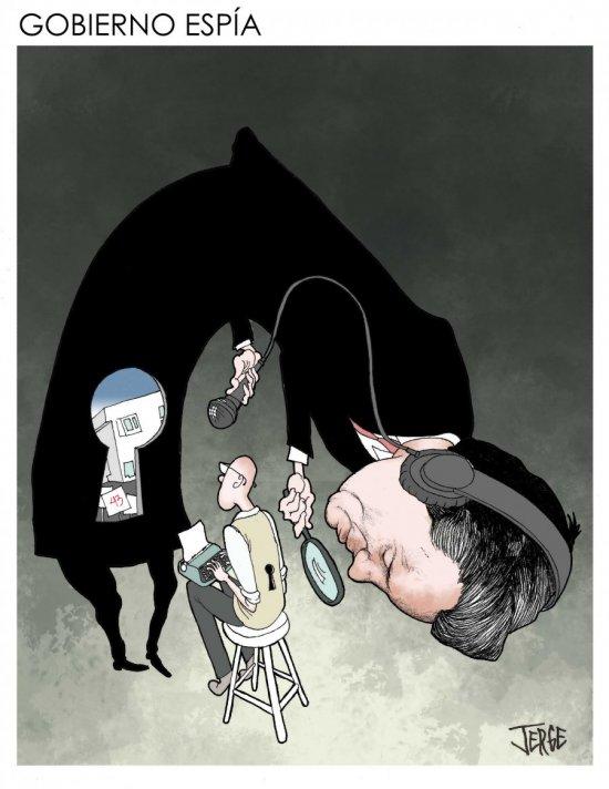 Gobierno espía