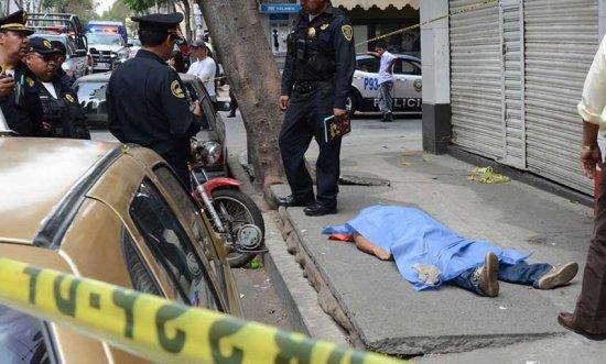 Aumentan homicidios y robo con violencia en CDMX