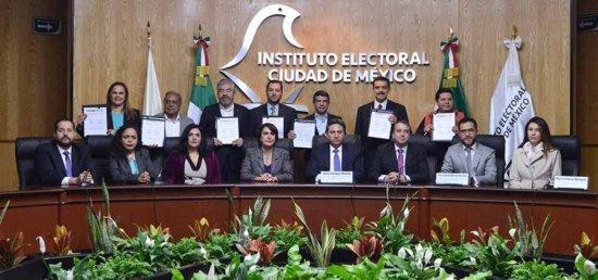 Firman Pacto de Civilidad ante instituto electoral