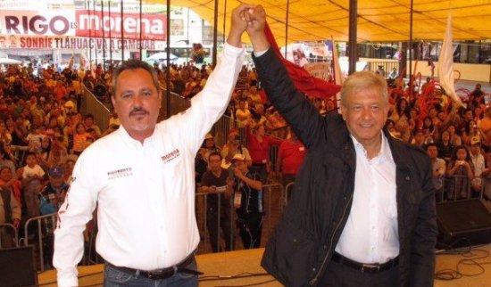 Camaradas de Morena dejan solo a Rigoberto Salgado