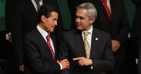 Los cuatro temas que distanciaron a Mancera de Peña Nieto
