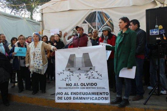 Damnificados del 19S se organizan y piden diálogo con Mancera