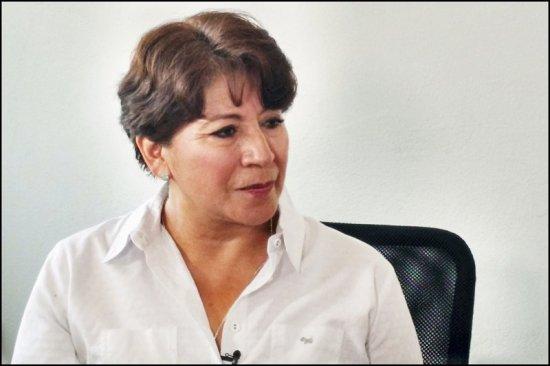 No soy funcionaria de escritorio: Delfina Gómez