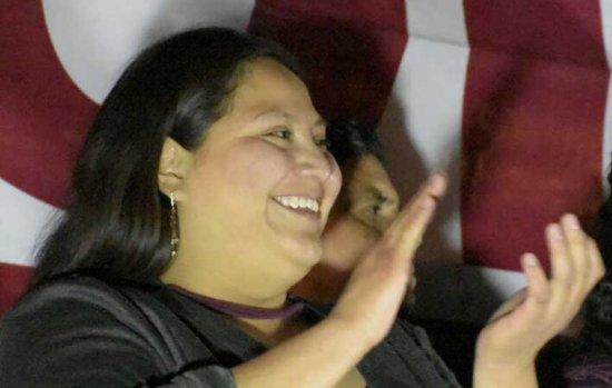 Citlalli Hernández, la mujer más joven en aspirar al Senado de la República