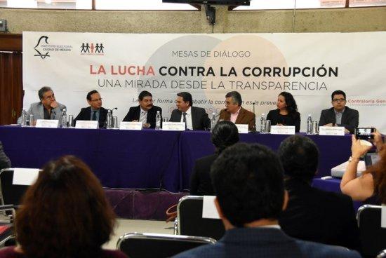 Busca IECM cumplir las metas del combate a la corrupción