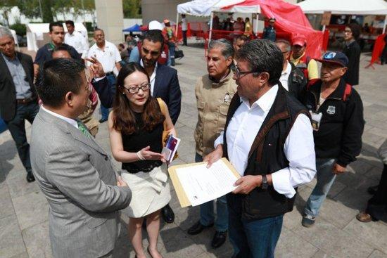Propone Monreal Plan Integral para Reconstrucción y Recuperación de la CDMX