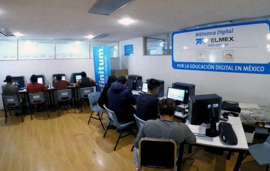 Recibe Aula Digital en CEDA hasta 400 usuarios diarios