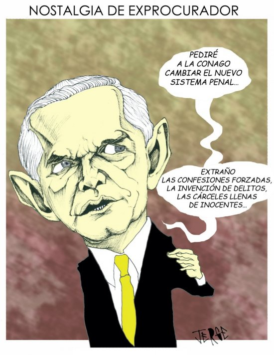 NOSTALGIA DE EXPROCURADOR