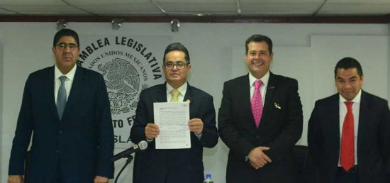 ALDF recibe iniciativa para endurecer penas por narcomenudeo