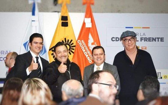 Panistas van por Benito Juárez, Miguel Hidalgo y Cuajimalpa