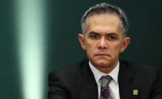 Reprocha Mancera al Cenapred por mapa de grietas en la CDMX