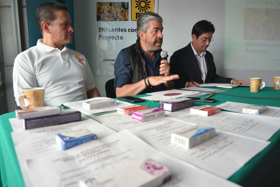 Denuncia PRD a Monreal de recortar gasto social en Cuauhtemoc