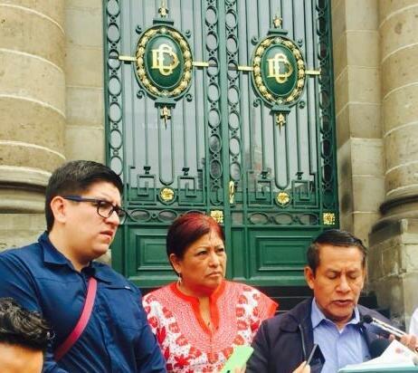 Morena pide sesionar en sede alterna