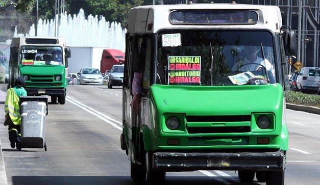 Transporte chilango debera colocar camaras de vigilancia: Serrano