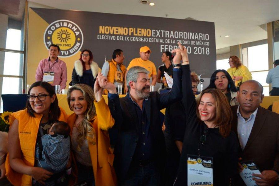 Presenta el PRD a candidatos para las alcaldias en la CDMX