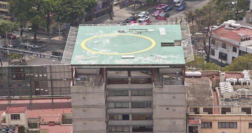 Dueno de helipuerto ilegal en la Condesa es empresario inmobiliario y amigo de politicos