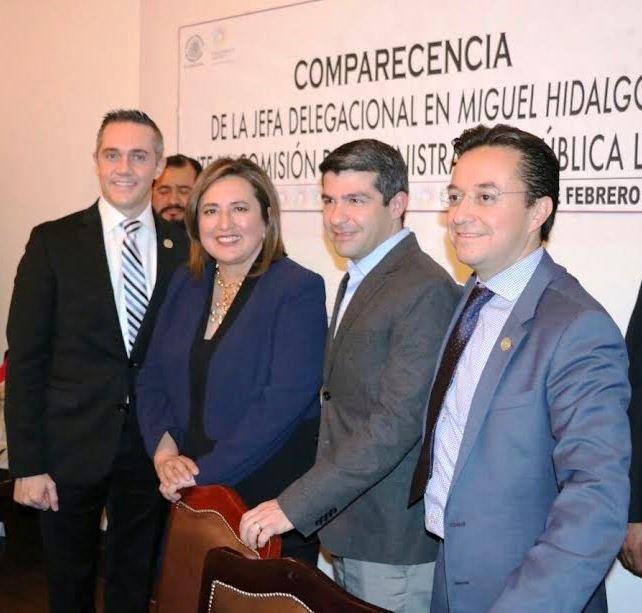 Xochitl Galvez comparece entre acusaciones ante ALDF