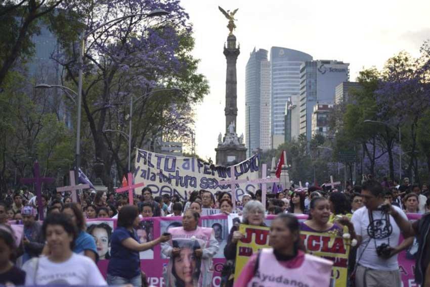 Presenta Morena mapa de feminicidios en CDMX