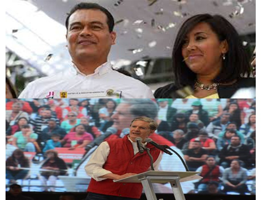 ¿Zepeda y Del Mazo necesitan apoyo chilango?