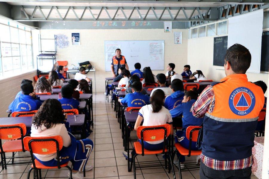 CEDA lleva Proteccion Civil a escuelas