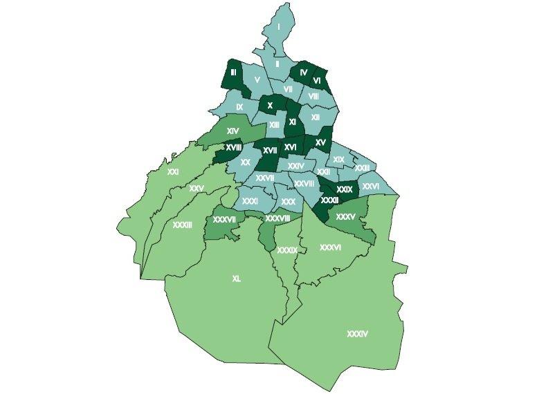 Toma forma el nuevo mapa electoral de la CDMX