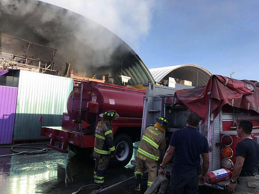 Sofocan incendio oportunamente en la CEDA