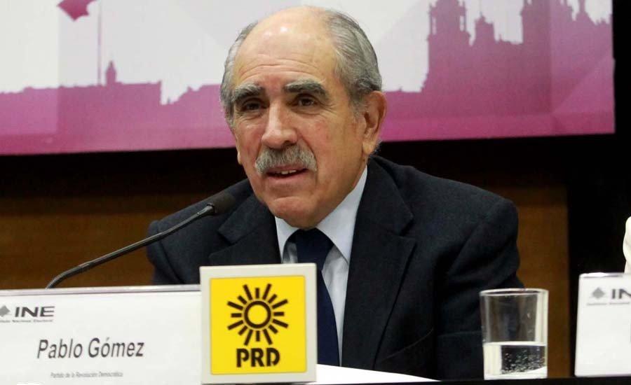 Pablo Gomez califica a Mancera como un candidato improvisado