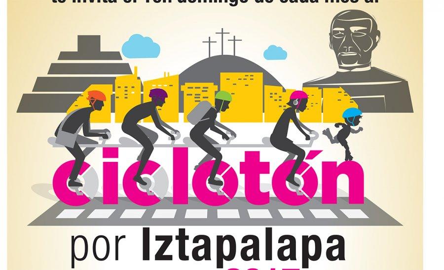 Arman dia bicicletero en Iztapalapa