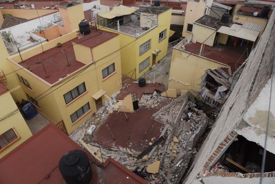 Autorizan demolicion de 24 inmuebles danados por sismo