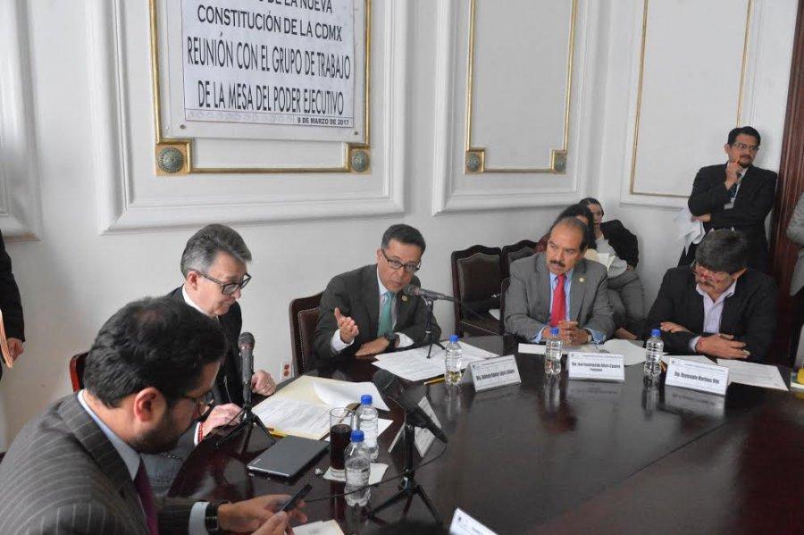 Aprueban ruta para elaborar Ley Secundaria del Poder Ejecutivo CDMX