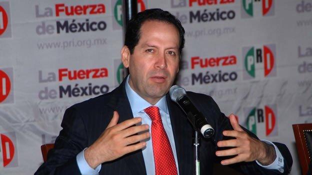 Llega Eruviel Ávila al frente del PRI CDMX