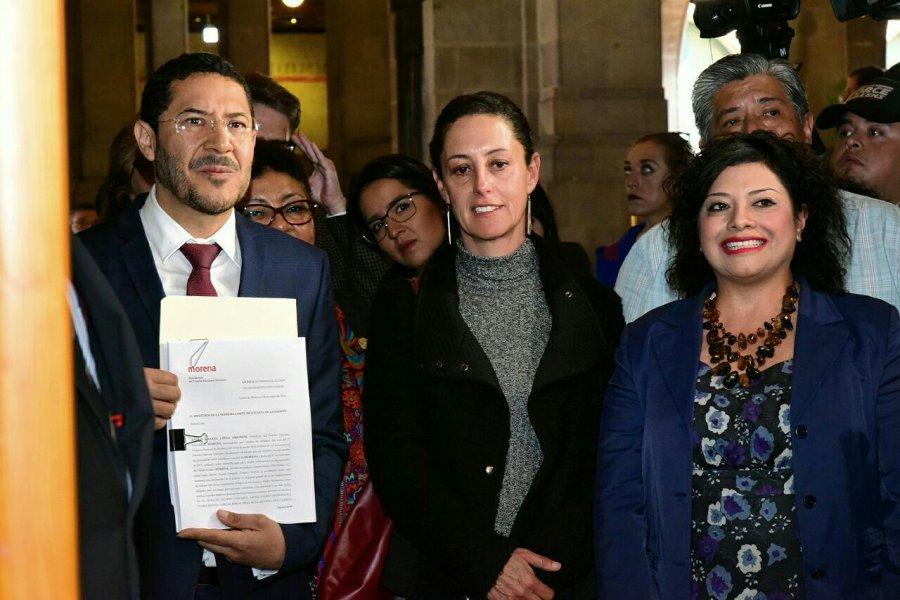 Morena dice no, a la Constitucion