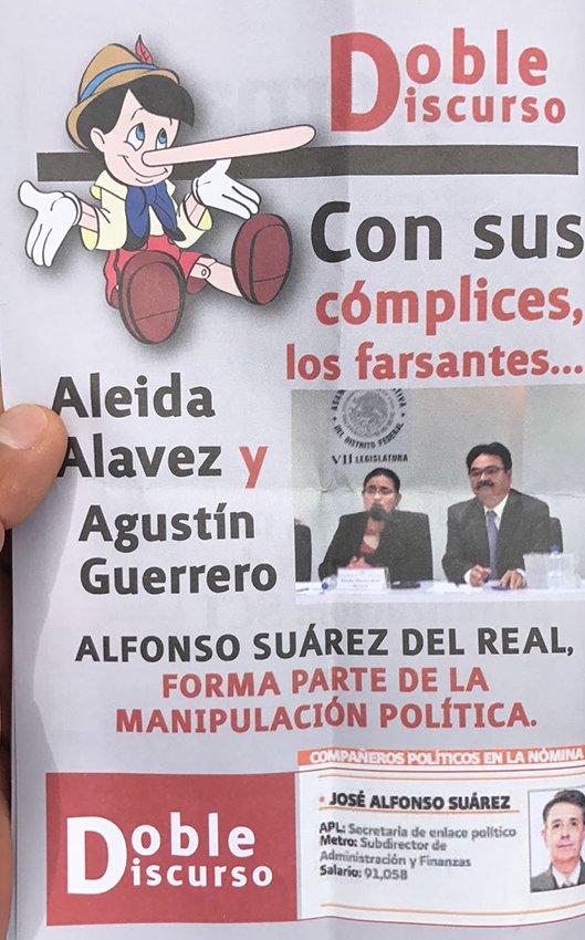 Acoso y difamacion a Morenista