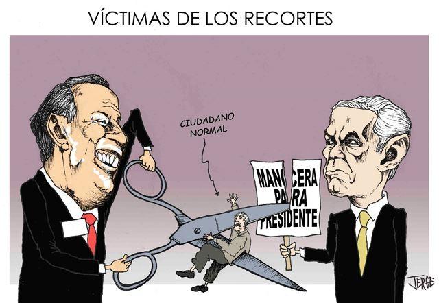 Victimas de los Recortes