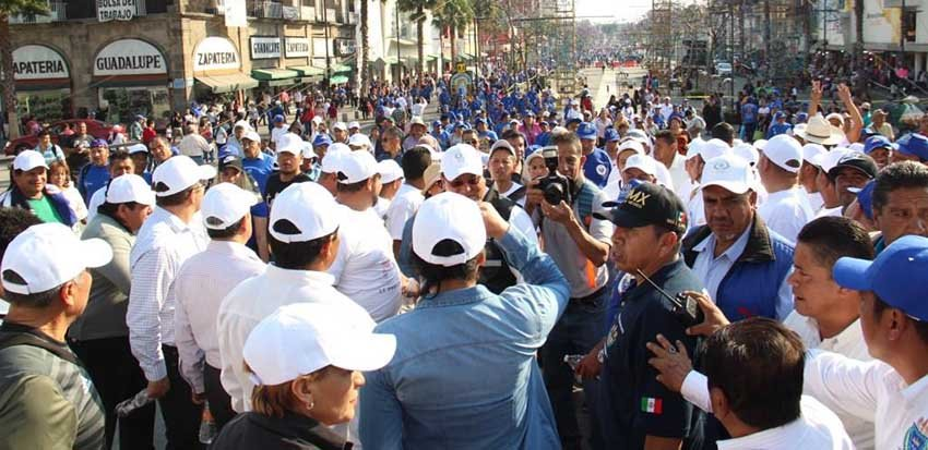 Iztapalapa aplica operativo de seguridad Guadalupe-Reyes