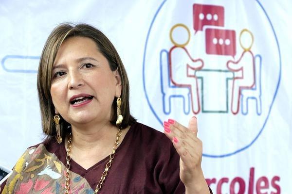 Analiza Xochitl Galvez contender por jefatura de gobierno