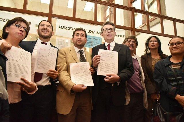 Impugna Morena Ley Electoral ante SCJN