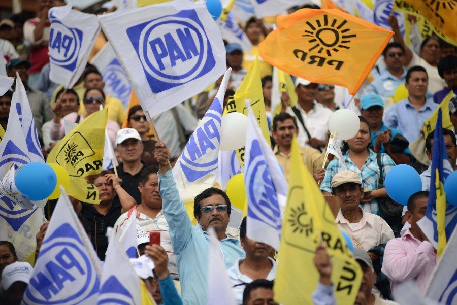¿A quien le conviene la alianza entre el PAN y el PRD?