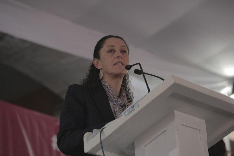 Anuncia Sheinbaum su salida de Tlalpan
