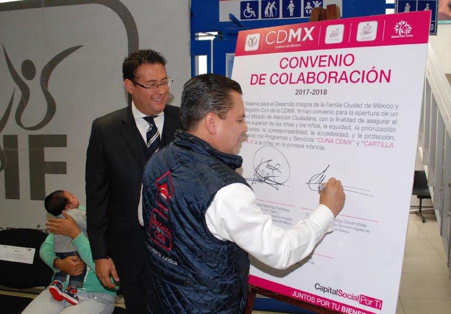 Establecen Cejur y DIF-CDMX alianza para desarrollo de bebes