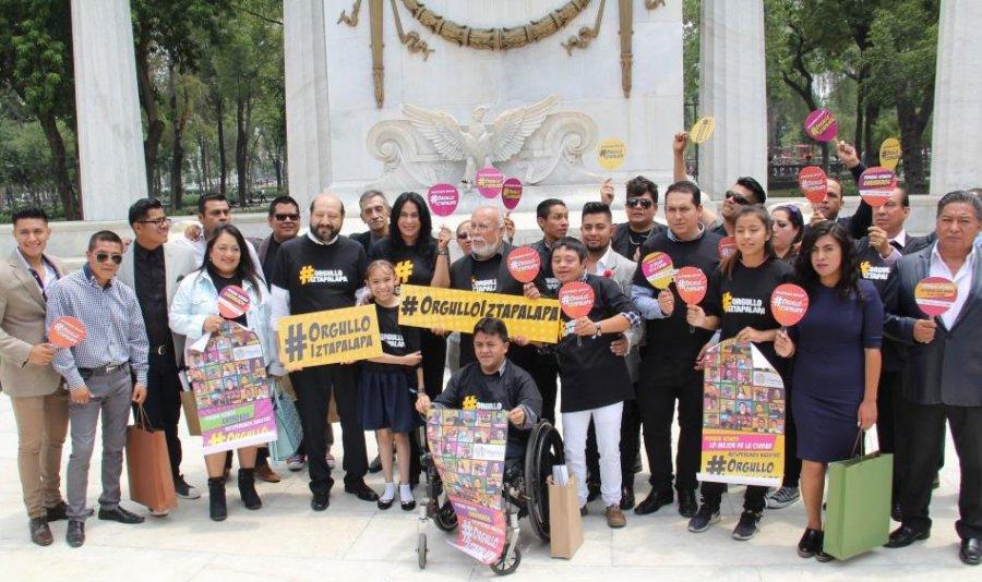 Contra los estigmas, nace #orgulloiztapalapa