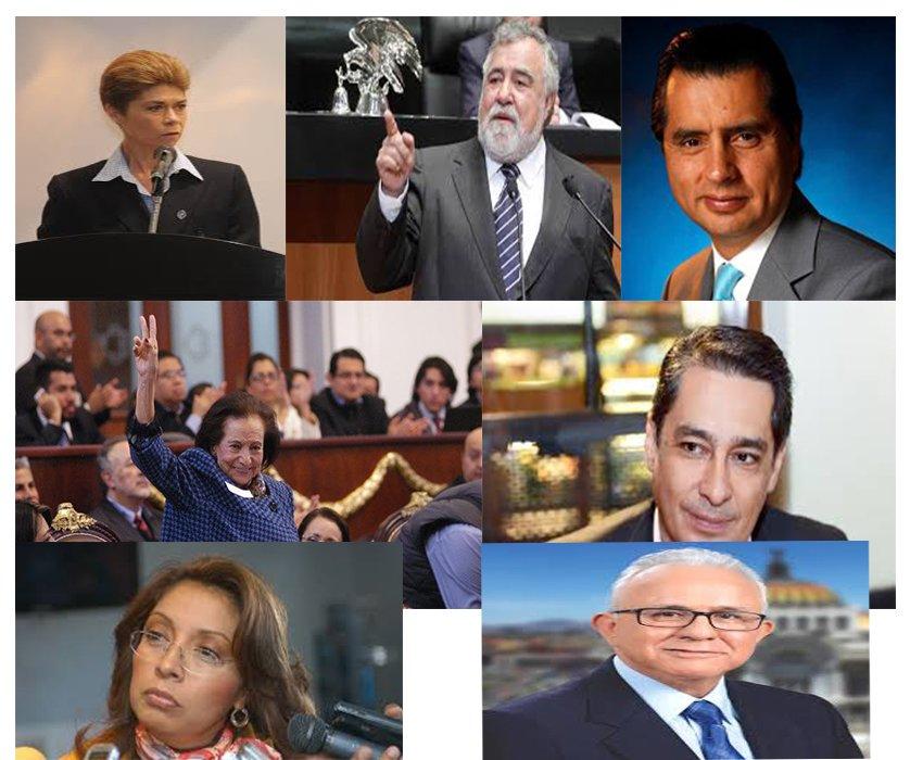 Constituyentes aplicados y rifados