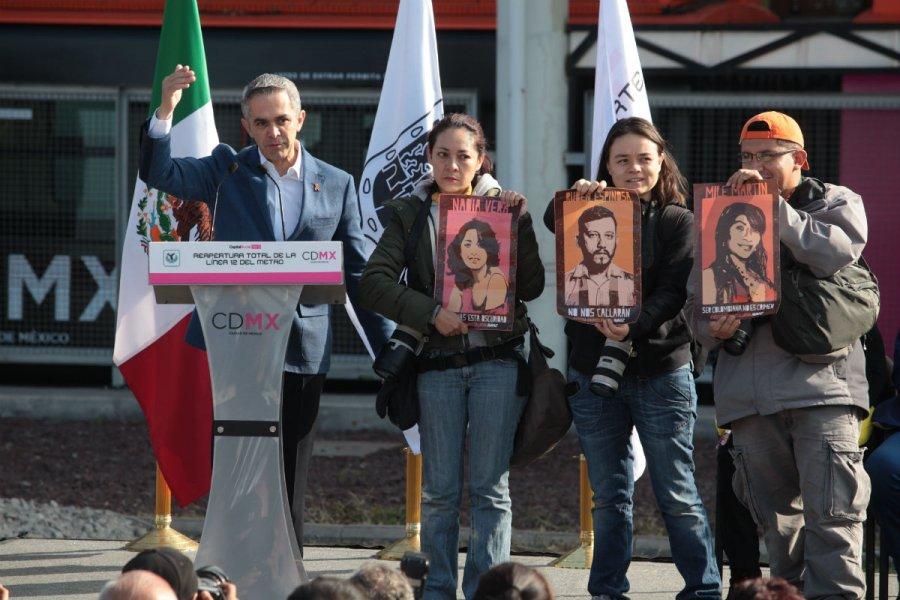 La deuda pendiente de Mancera con los periodistas