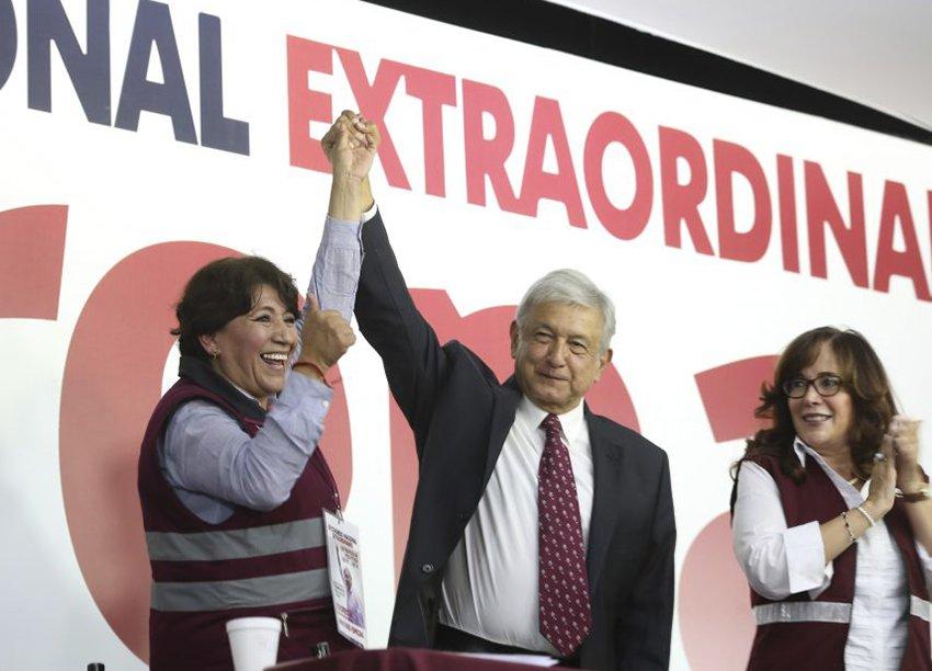AMLO pinta su raya con partidos politicos