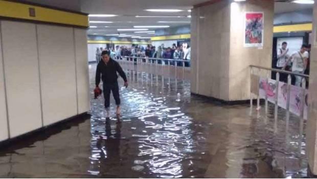 Metro debe informar que hace para evitar inundaciones
