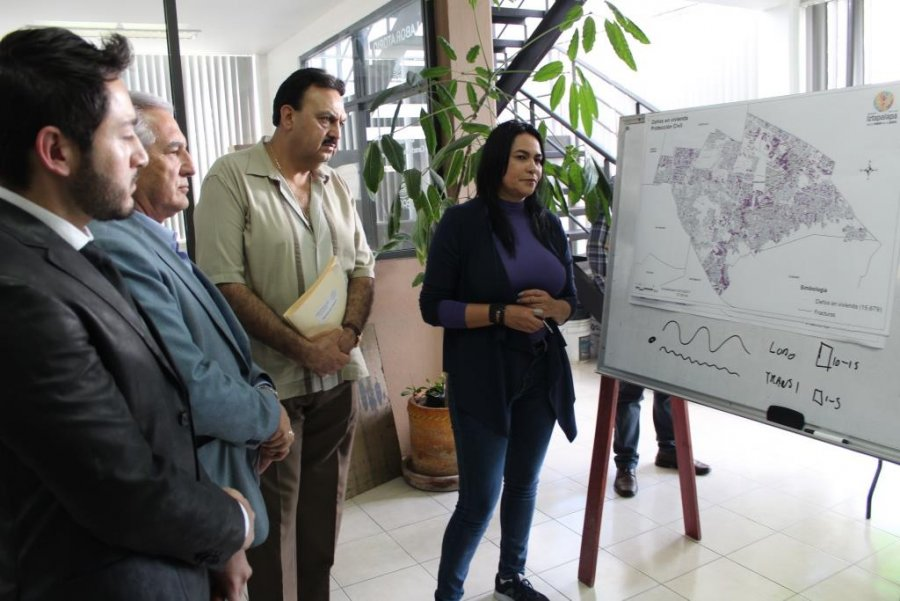 Mas de 19 mil inmuebles danados en Iztapalapa por S19