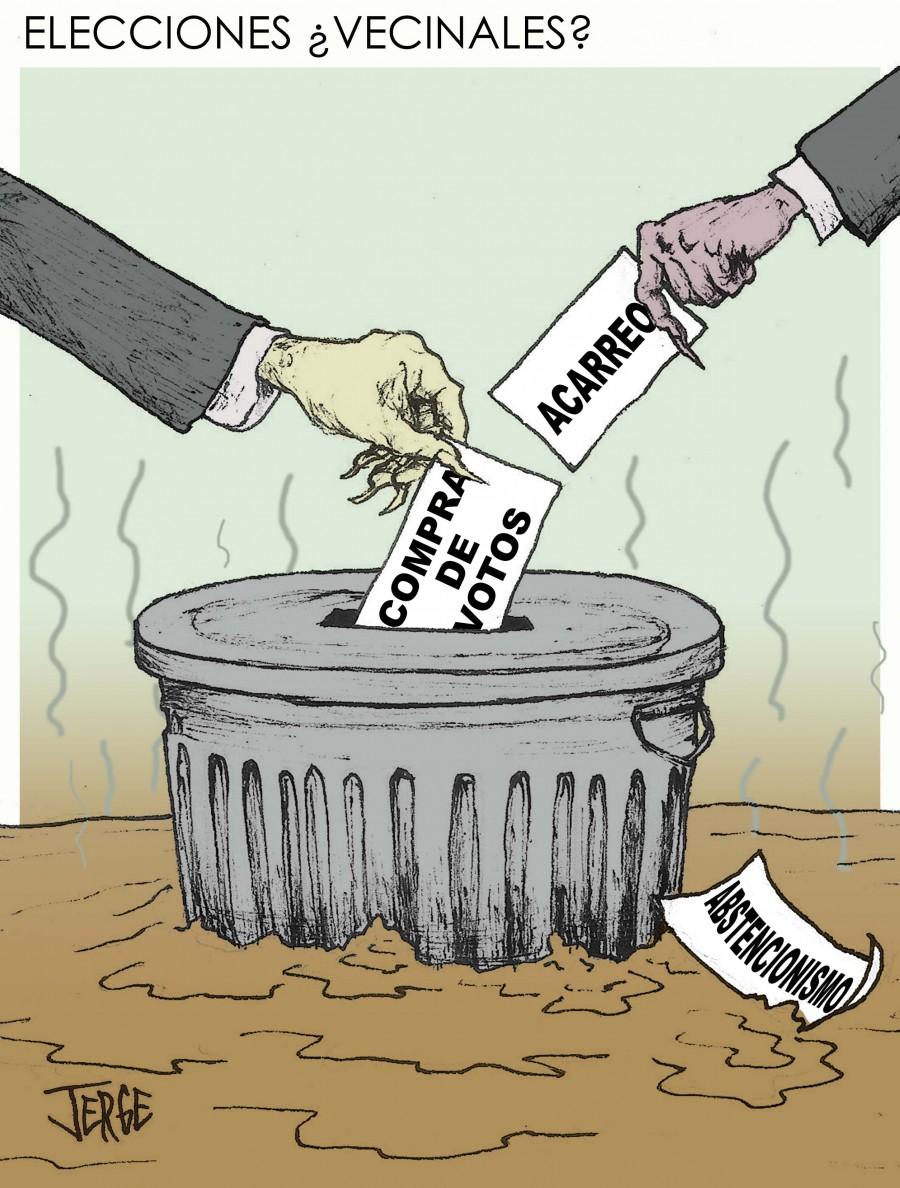 Elecciones ¿Vecinales?