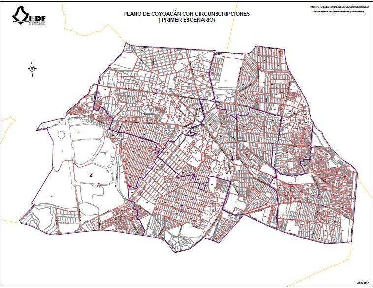 Presentan mapas de las nuevas circunscripciones para las alcaldias